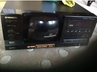 PIoneer 101 CD changer , amplifier and speakers
