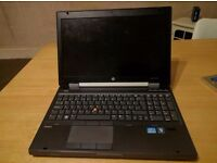 Powerful gaming laptop. HP 8560W