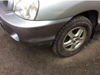 Clean interior, scrape to near side front,age related marks, tow bar, good tyres, new battery