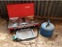 Tilley Camping Stove & Gas Cylinder