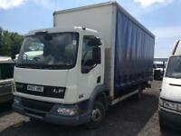 Leyland daf 7.5 2007 plated ready to