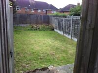 2 bed maisonette own garden in Walsall looking for 1,2 bed in London, Manchester or an coastal area
