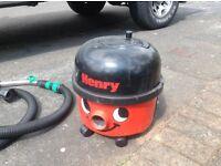 Henry vacuums