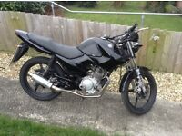 Yamaha ybr 125 2010. 2 brand new tyres, 12 months mot. Great condition, reliable, £900 Ono