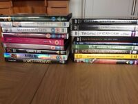 Outstanding DVD's 33 in total with 5 box sets two unoppened!