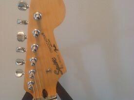 Fender Squire Black Stratocaster