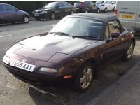 Mazda mx5 mk1 merlot for sale
