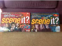 2x Harry Potter scene-it DVD board games