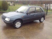 1993 Peugeot 205 diesel ( power steering) low miles