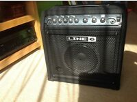Line 6 Lowdown LD15 15 watt bass practice amp