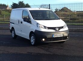 2015 NISSAN NV200 DCI 1.5. TOP OF THE RANGE ACENTA WITH ALL OPTIONS. 2 SIDE DOORS. PLY LINED. 60 MPG