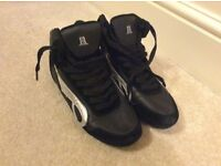 Bloch leather dance sneakers