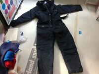 Brand new padded boilersuit/worksuit/coverall with hood for outside work - brand new