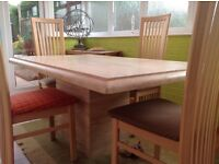 For Sale , granite dining table excellent condition