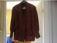 Bomber style Leather Jackets (Ladies)