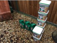 50 litres of Ronseal Sprayable Fence Paint- Forest Green