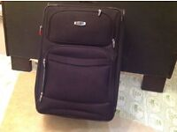 Large suitcase perfect for winter holidays