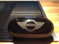 Genuine BMW Mini Countryman glasses case and centre rail adapter