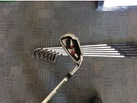Used Wilson D100 5-SW Regular Flex Graphite Shaft Iron Set