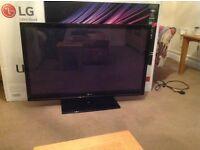 "42"" HD LG television"