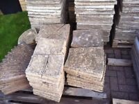 3m stone circle 150 + paving slabs 50+ bags dolimite / sharp sand/ clay mix