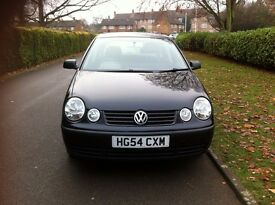Volkswagen Polo 2004 On 54 Plate, 1.2 Engine, 5 Doors, 1 Yrs MOT Manual Gear-Box.