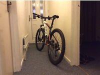 "BMC mountain bike 17"" frame medium"