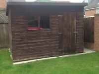 Pent Style Garden Shed 10ft x 8ft