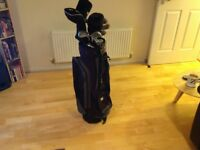 For Sale set of golf clubs and bag