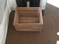 Apple crate for sale