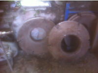 Tractor rear wheel weights
