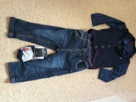 Boys M&S outfit 18-24 months