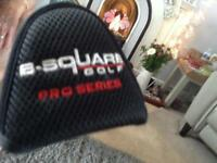 B square putter and head cover in good condition.