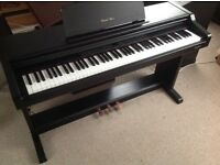 Digital piano Technics 103m, good working condition, black in colour