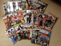 Selection of TOTAL GUITAR magazines