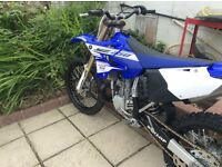 Yam YZ 250 2016 road reg'd on a 16 plate
