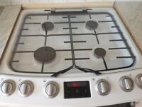 Zanussi double oven cooker with grill
