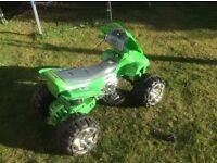 Childs Battery Powered 'Ben 10' Quad bike