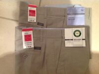 Chinos 2 pairs from M&S, brand new with tags still on.