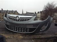 VAUXHALL CORSA D FRONT BUMPER FOR SALE 2011 ONWARDS 8