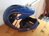 Odyssey full face BMX helmet 58-60cm.Excellent quality helmet. £50
