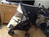 Maclaren XT 4W suspension pushchair in excellent condition