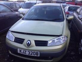 2005 RENAULT MEGANE DYNAMIQUE DCI 1.5 DIESEL BREAKING FORM PARTS ONLY POSTAGE AVAILABLE NATIONWIDE