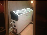 Electric heaters,very good condition ,only used twice ,due to house heating being fixed ,
