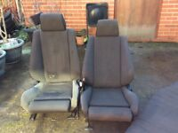BMW E30 325i sport Tech one M3 houndstooth seats front &rear very rare sort after