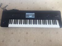 Korg Krome 61 key. Workstation. Manual. Cover. Power.
