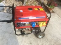 Clarke Power 5.5kva electric start dual voltage petrol generator