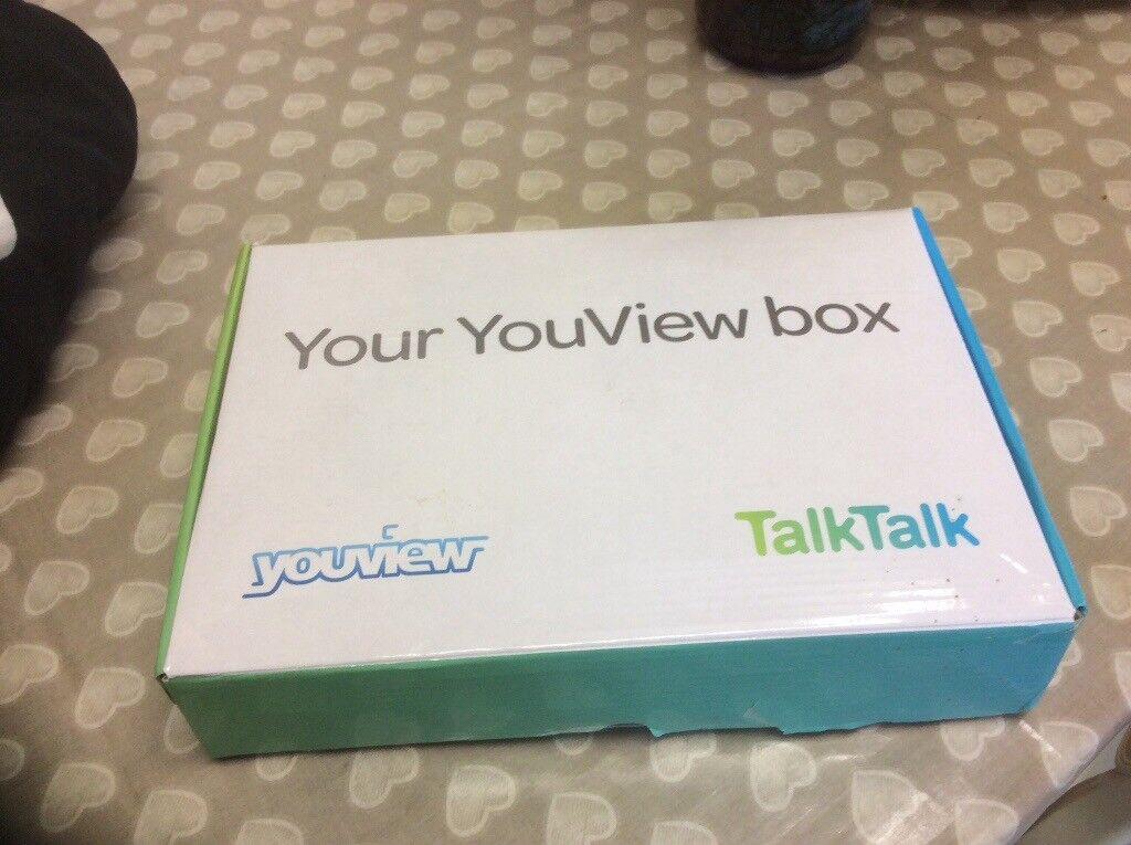 Brand new unused TalkTalk You View Box