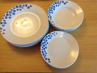Sabichi Dinner Set (plates, side plates, bowls)