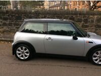 MINI COOPER ON A 55PLATE YEAR MOT